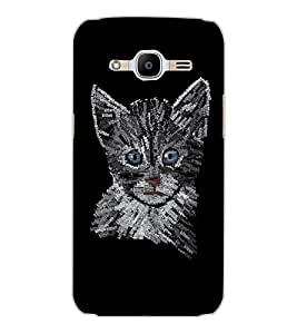 SAMSUNG GALAXY J2 2016 KITTY Back Cover by PRINTSWAG