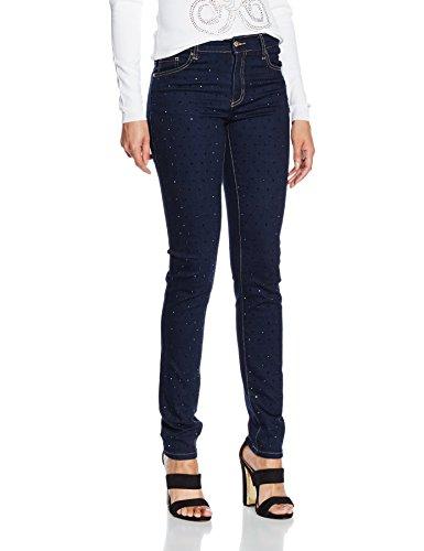 Versace Jeans EA1HNB0KF_E6404W, Pantaloni Donna, Indigo-E904, 30