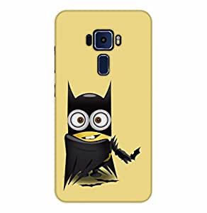 Happoz ASUS Zenfone 3 Deluxe (ZS570KL) Cases Back Cover Mobile Pouches Shell Hard Plastic Graphic Armour Premium Printed Designer Cartoon Girl 3D Funky Fancy Slim Graffiti Imported Cute Colurful Stylish Boys D118