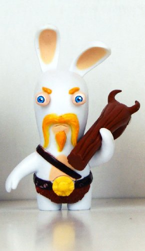 "Rabbids - Travel in Time - 2.75"" Figure - Viking with Club"