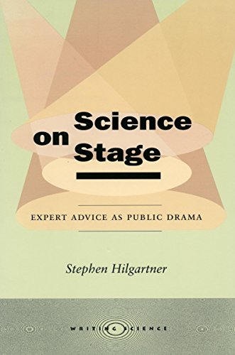 Science On Stage: Expert Advice As Public Drama (Writing Science) front-25063