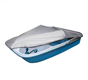 Buy Classic Accessories Silver-Tech Polyester Pedal Boat Cover (Silver, Fits 3 or 5 Person Boat) Athletics, Exercise,... by Athletics & Exercise