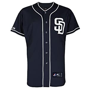 MLB San Diego Padres Alternate Replica Jersey, Navy by Majestic