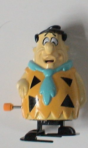 Vintage Flintstones Fred Flintstone Wind up Figure - 1