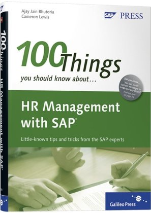 100 Things You Should Know About HR Management with SAP