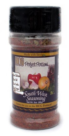HCG Diet Safe Southwest Seasoning (Sugar Free Spices, Gluten Free Spices, Diabetic Spices)