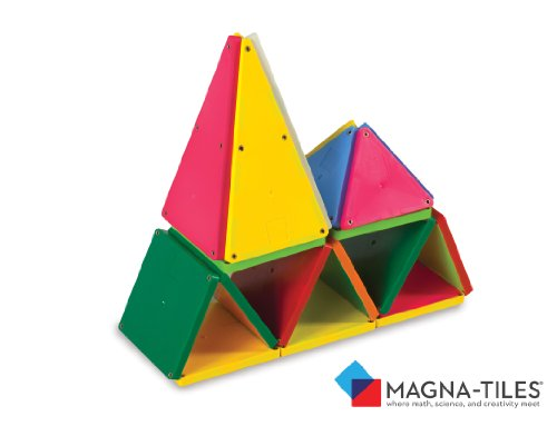 MagnaTiles® Solid Colors 100 Piece Set Picture