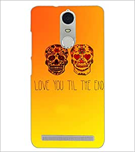 PrintDhaba Quote D-3471 Back Case Cover for LENOVO K5 NOTE (Multi-Coloured)