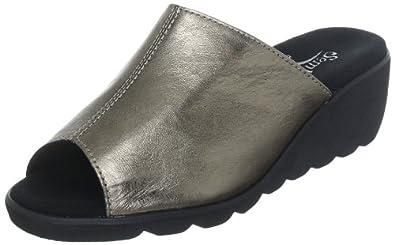 Semler Inka I1023-018-054, Damen Clogs & Pantoletten, Braun (graphit 054), EU 40 2/3 (UK 7)