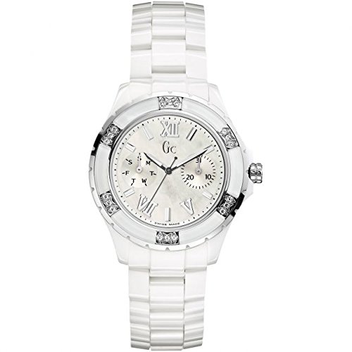 Reloj Guess Collection Gc Sport Class Xl-s X69117l1s Mujer Nácar