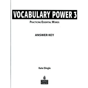 vocabulary power 3 answer key jennifer recio lebedev. Black Bedroom Furniture Sets. Home Design Ideas