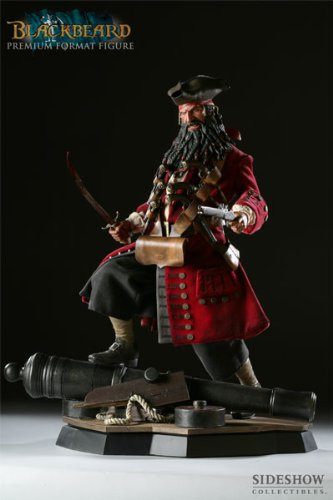 Buy Low Price Sideshow Blackbeard Premium Format Figure (B002N2AIJQ)