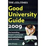 "The ""Times"" Good University Guide 2009by John O'Leary"