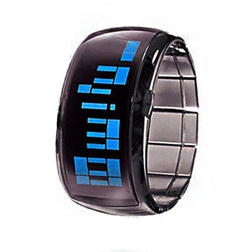 Absolute Cool Super Light Led Lady'S & Men'S Digital Bracelet Bangle Watches