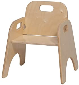 Amazoncom Steffy Wood Products 9 Inch Toddler Chair