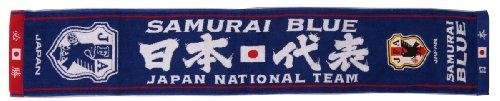 (Jリーグエンタープライズ)J.LEAGUE ENTERPRISE 日本代表 タオルマフラー (エンブレム) 11-06299 ND 日本代表 F