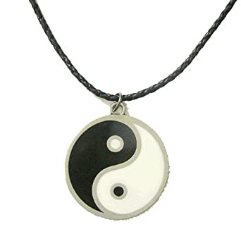 yin yang necklace clothing