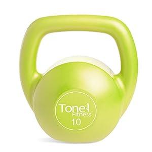 Tone Fitness Vinyl Kettlebell