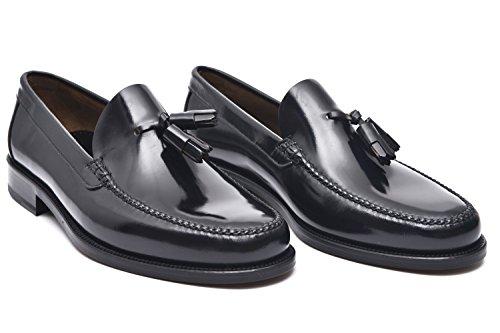 G&P cobbler Mocassini Artigianali Borlas, Colore: Nero, Taglia: 39