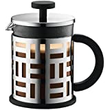 Bodum Eileen French Press Coffee Maker, 17-Ounce, Chrome