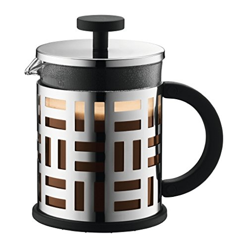 Bodum Eileen French Press Coffee Maker, 17-Ounce (Chrome)
