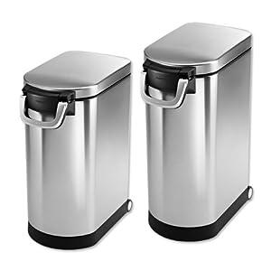Simplehuman Airtight Food Storage Bin / Large, Large