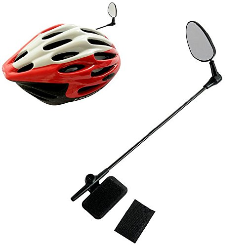 SINEDY Bike Bicycle Rear View Helmet Safety 24cm Practical Useful