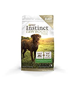 Instinct Raw Boost Grain-Free Lamb and Salmon Meal Formula Dry Dog Food by Nature's Variety