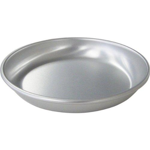 AKAO(アカオ) アルマイト給食用皿 14cm