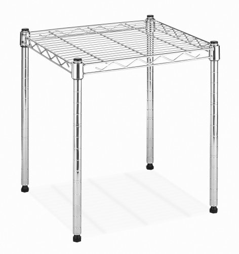 Whitmor 6054-584 Supreme Small Stacking Shelf, Chrome