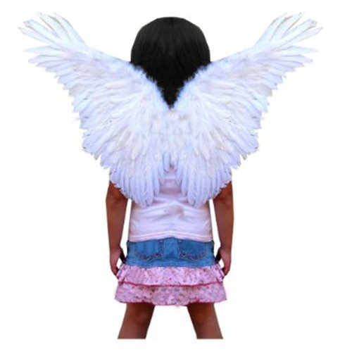 SACAS Small Butterfly Feather Fairy Wings for kids in 2 colors