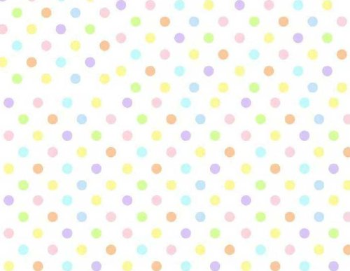 Sheetworld Fitted Square Playard Sheet 37.5 X 37.5 (Fits Joovy) - Pastel Colorful Polka Dots Woven - Made In Usa
