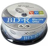 XLayer BD-R Rohlinge (4x Speed, 25GB, 25er Pack)