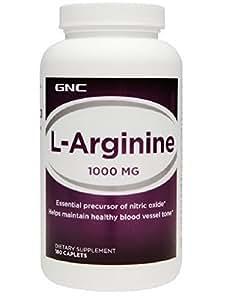 Amazon.com: GNC L-arginine 1000 180 Caplets: Health ...