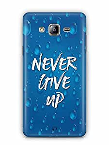 YuBingo Never Give Up Designer Mobile Case Back Cover for Samsung Galaxy On 5 Pro