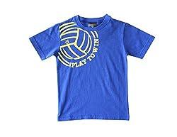 Anthill Boys' T-Shirt (AM104B_Royal Blue_5 - 6 Years)