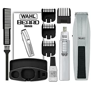 wahl 5537 420 moustache and beard trimmer and. Black Bedroom Furniture Sets. Home Design Ideas