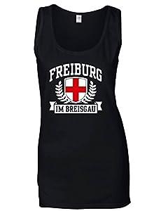 T-Shirtshock - T-shirt Frauen armellos TSTEM0168 freiburg im breisgau