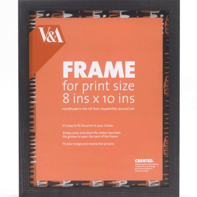 V&A Box Picture Frame (10x8 inches) (Black)||EVAEX