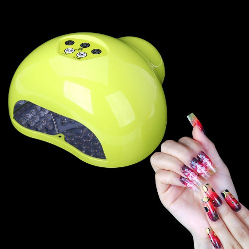 Storm Store Professional Lk-F12W Cold 12W Led Uv Nail Dryer Light/Lamp Nail Polish Dryer For Gelish Nail Gel Polish Curing Nail Dryer (Green)