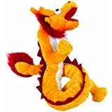Mighty Jr. Dragon Dog Toy, Yellow