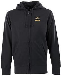 Missouri Signature Full Zip Hooded Sweatshirt (Team Color) by Antigua