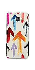 Casenation Arrow Pattern Samsung Galaxy A7(2016) Glossy Case