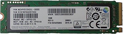 Samsung SSD SM951 512GB, M.2 (MZHPV512HDGL-00000)