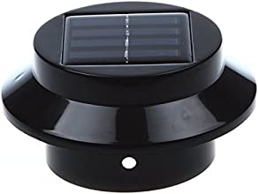 Sourcingbay 1 PCS Solar Powered Energy Saving Fence Gutter Light with 3 LED 2 Battery Outdoor Garden