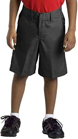 Dickies 42362 Boy's Extra Pocket Short Black Size 4