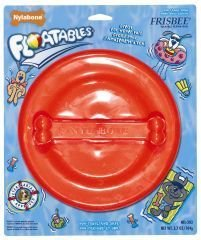 tan FLOATABLE FRISBEE-LG - Large