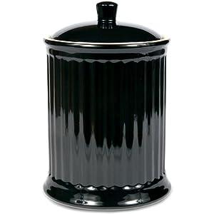 amazon com omniware simsbury black extra large stoneware