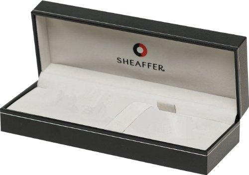 Sheaffer 100 - Bolígrafo (níquel cepillado), color azul