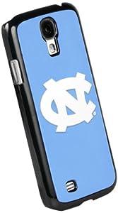Buy Forever Collectibles NCAA North Carolina Tar Heels Team Logo (Black Borders) Hard Samsung Galaxy S4 Case by Forever Collectibles